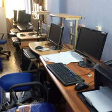 image of computer lab