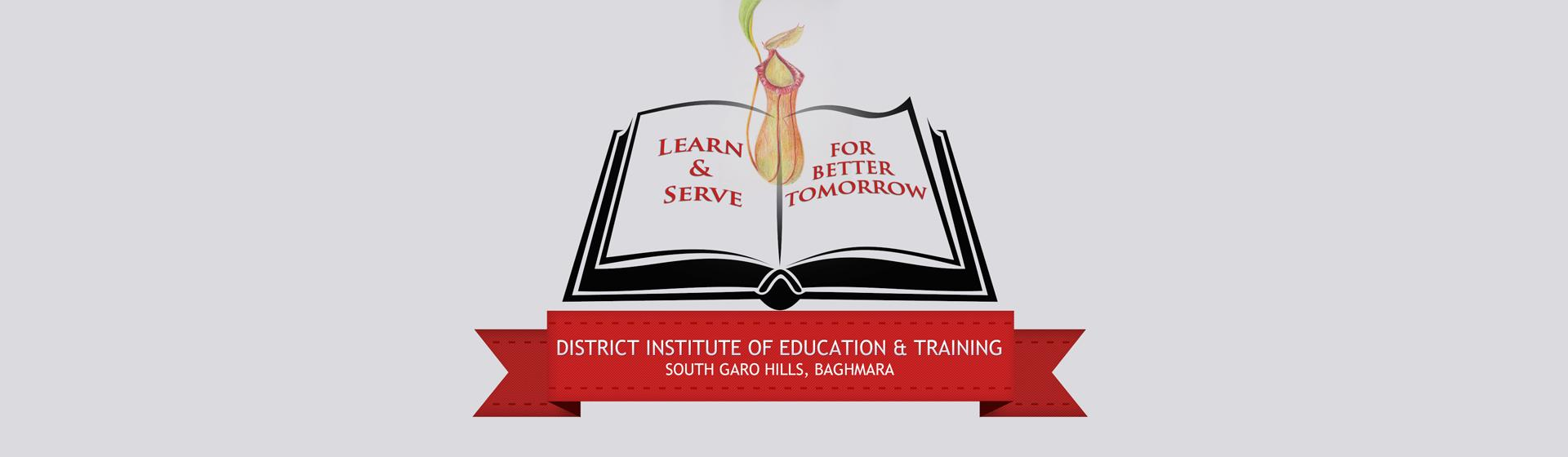 District Institute of Education and Training Banner Image